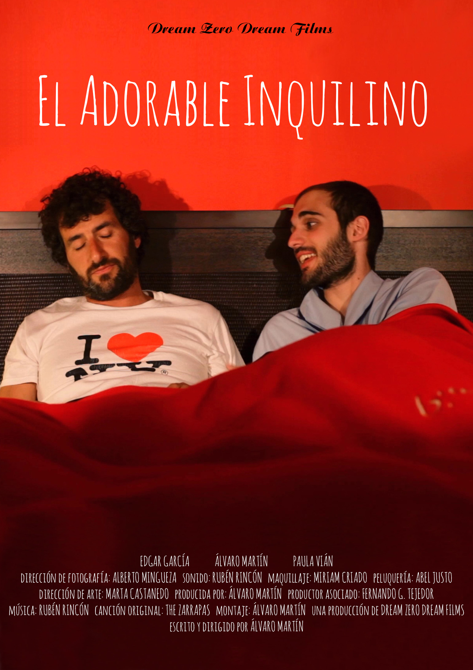 Cartel El Adorable Inquilino